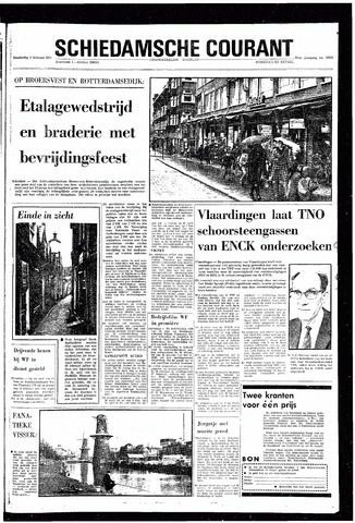 Rotterdamsch Nieuwsblad / Schiedamsche Courant / Rotterdams Dagblad / Waterweg / Algemeen Dagblad 1970-02-05