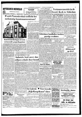 Rotterdamsch Nieuwsblad / Schiedamsche Courant / Rotterdams Dagblad / Waterweg / Algemeen Dagblad 1966-11-29