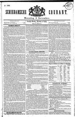 Schiedamsche Courant 1866-11-05