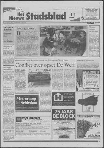 Het Nieuwe Stadsblad 1997-11-12