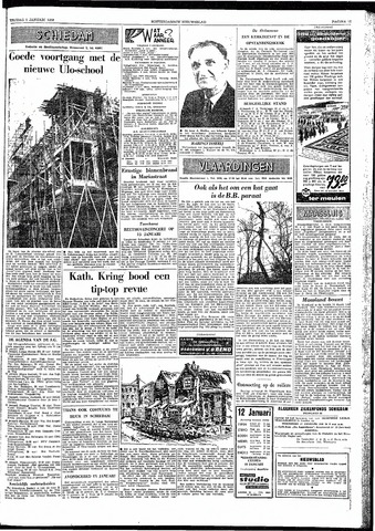 Rotterdamsch Nieuwsblad / Schiedamsche Courant / Rotterdams Dagblad / Waterweg / Algemeen Dagblad 1959-01-09