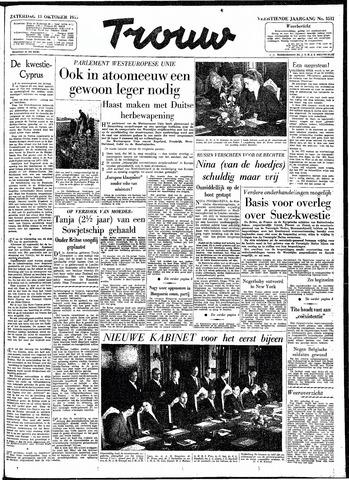 Trouw / De Rotterdammer 1956-10-13