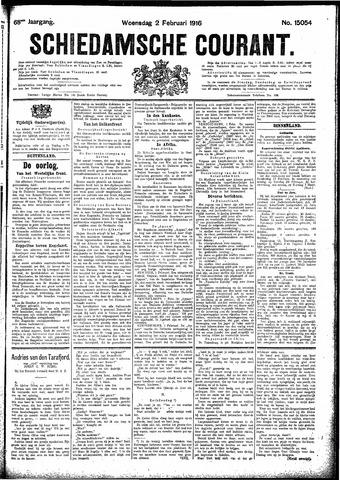 Schiedamsche Courant 1916-02-02