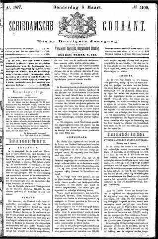 Schiedamsche Courant 1877-03-08