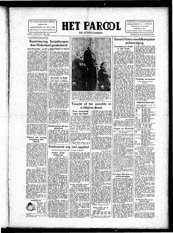 Rotterdamsch Parool / De Schiedammer 1946-08-28