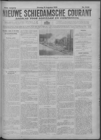 Nieuwe Schiedamsche Courant 1929-08-13