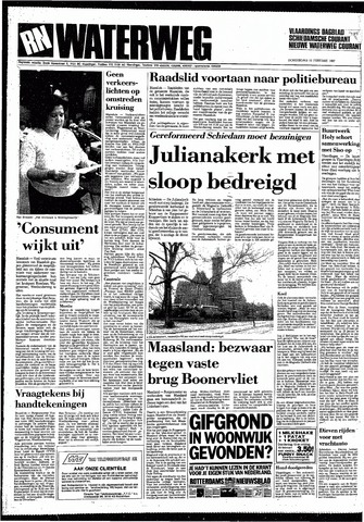 Rotterdamsch Nieuwsblad / Schiedamsche Courant / Rotterdams Dagblad / Waterweg / Algemeen Dagblad 1987-02-12