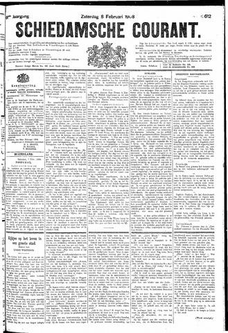 Schiedamsche Courant 1908-02-08