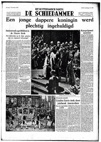 Rotterdamsch Parool / De Schiedammer 1948-09-07