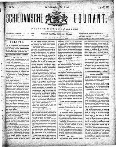 Schiedamsche Courant 1885-06-17