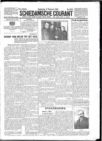 Schiedamsche Courant 1933-02-02