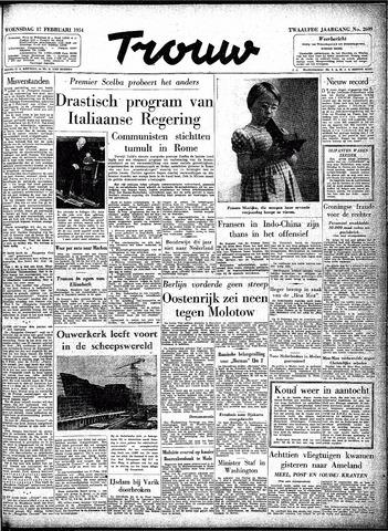 Trouw / De Rotterdammer 1954-02-17