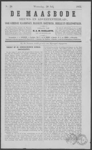 De Maasbode 1853-07-20