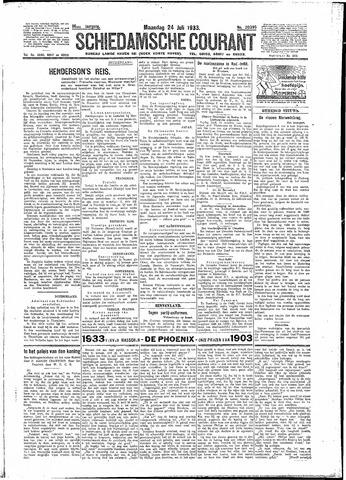 Schiedamsche Courant 1933-07-24