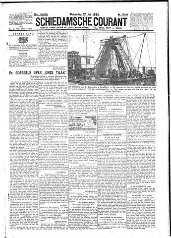 Schiedamsche Courant 1933-07-12