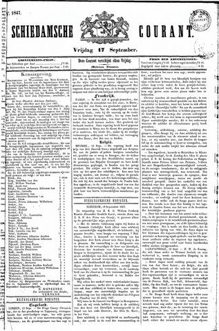 Schiedamsche Courant 1847-09-17