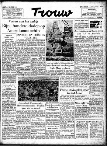 Trouw / De Rotterdammer 1954-05-28