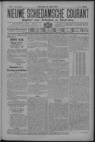 Nieuwe Schiedamsche Courant 1913-04-12