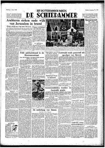 Rotterdamsch Parool / De Schiedammer 1948-06-01