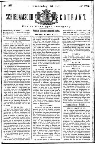 Schiedamsche Courant 1877-07-26