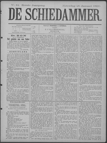 De Schiedammer 1890-01-25