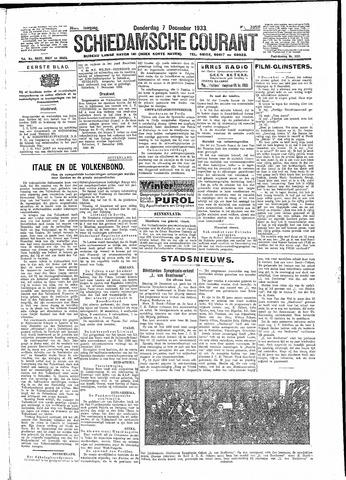 Schiedamsche Courant 1933-12-07