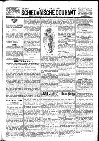 Schiedamsche Courant 1929-10-16