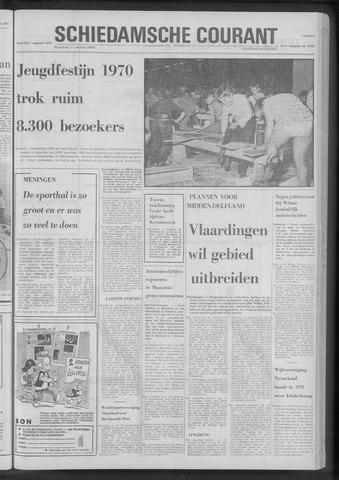 Rotterdamsch Nieuwsblad / Schiedamsche Courant / Rotterdams Dagblad / Waterweg / Algemeen Dagblad 1970-08-01