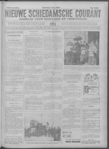 Nieuwe Schiedamsche Courant 1929-05-11