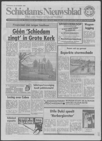 Schiedams Nieuwsblad 1984-11-28