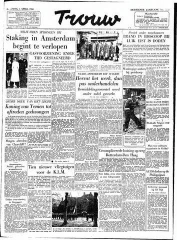 Trouw / De Rotterdammer 1955-04-04