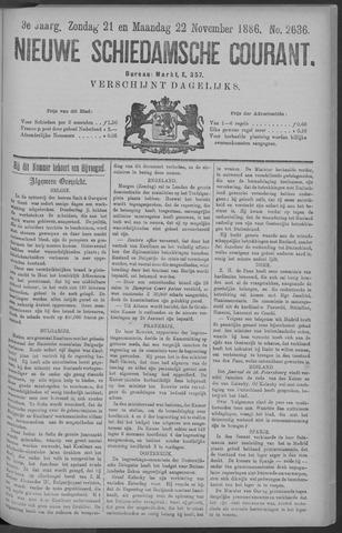 Nieuwe Schiedamsche Courant 1886-11-22