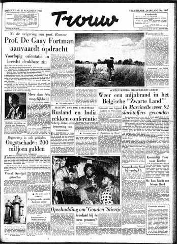 Trouw / De Rotterdammer 1956-08-23