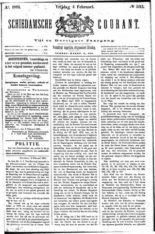 Schiedamsche Courant 1881-02-04