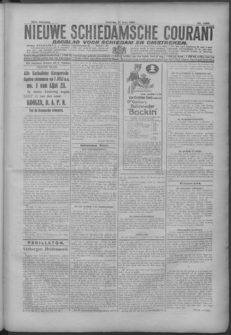 Nieuwe Schiedamsche Courant 1925-06-27