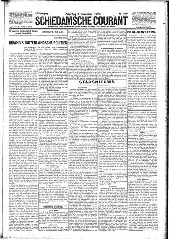 Schiedamsche Courant 1929-11-09
