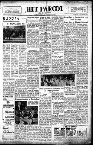 Rotterdamsch Parool / De Schiedammer 1945-11-10