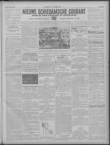 Nieuwe Schiedamsche Courant 1933-10-07