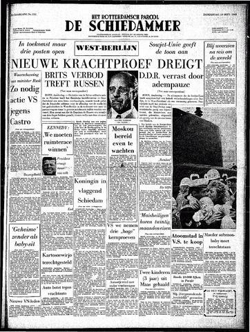Rotterdamsch Parool / De Schiedammer 1962-09-13