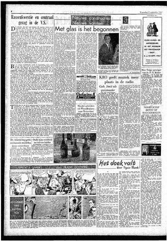 Rotterdamsch Parool / De Schiedammer 1957-09-11