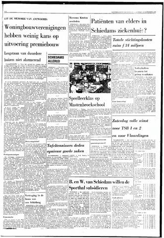 Rotterdamsch Nieuwsblad / Schiedamsche Courant / Rotterdams Dagblad / Waterweg / Algemeen Dagblad 1968-11-19
