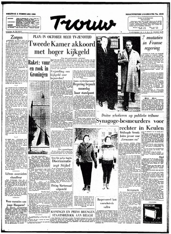 Trouw / De Rotterdammer 1960-02-05