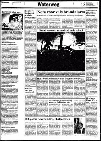Rotterdamsch Nieuwsblad / Schiedamsche Courant / Rotterdams Dagblad / Waterweg / Algemeen Dagblad 1991-11-08