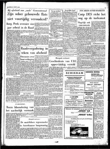 Rotterdamsch Parool / De Schiedammer 1962-09-01
