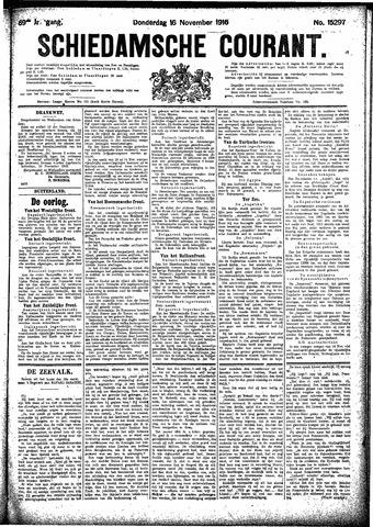 Schiedamsche Courant 1916-11-16
