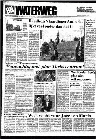 Rotterdamsch Nieuwsblad / Schiedamsche Courant / Rotterdams Dagblad / Waterweg / Algemeen Dagblad 1987-08-11