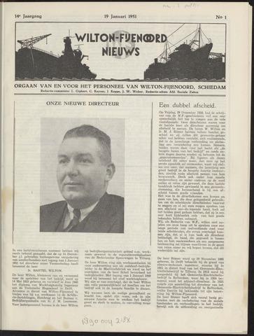 Wilton Fijenoord Nieuws 1951