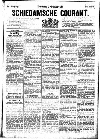 Schiedamsche Courant 1916-11-02