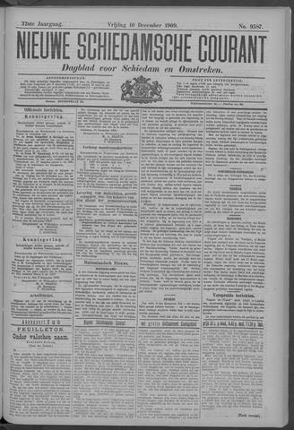 Nieuwe Schiedamsche Courant 1909-12-10