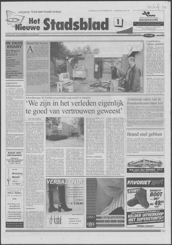 Het Nieuwe Stadsblad 2001-09-26